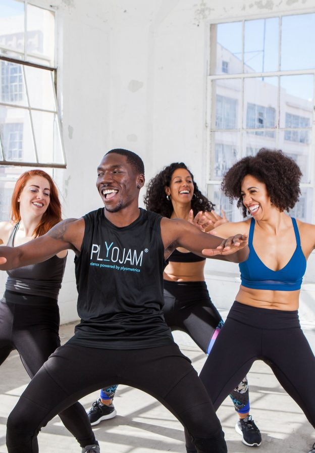 people dancing - change lives and be creative as a certified dance fitness instructor