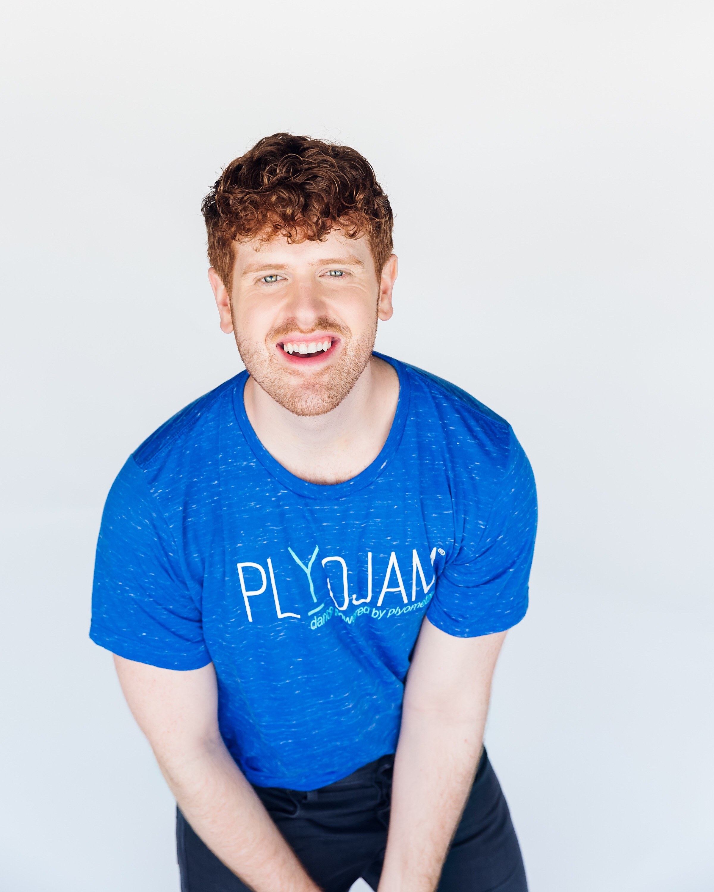 A picture of male PlyoJam instructor Matthew Mannix who will be teaching in New York City on Sundays at Rioult Dance Center.