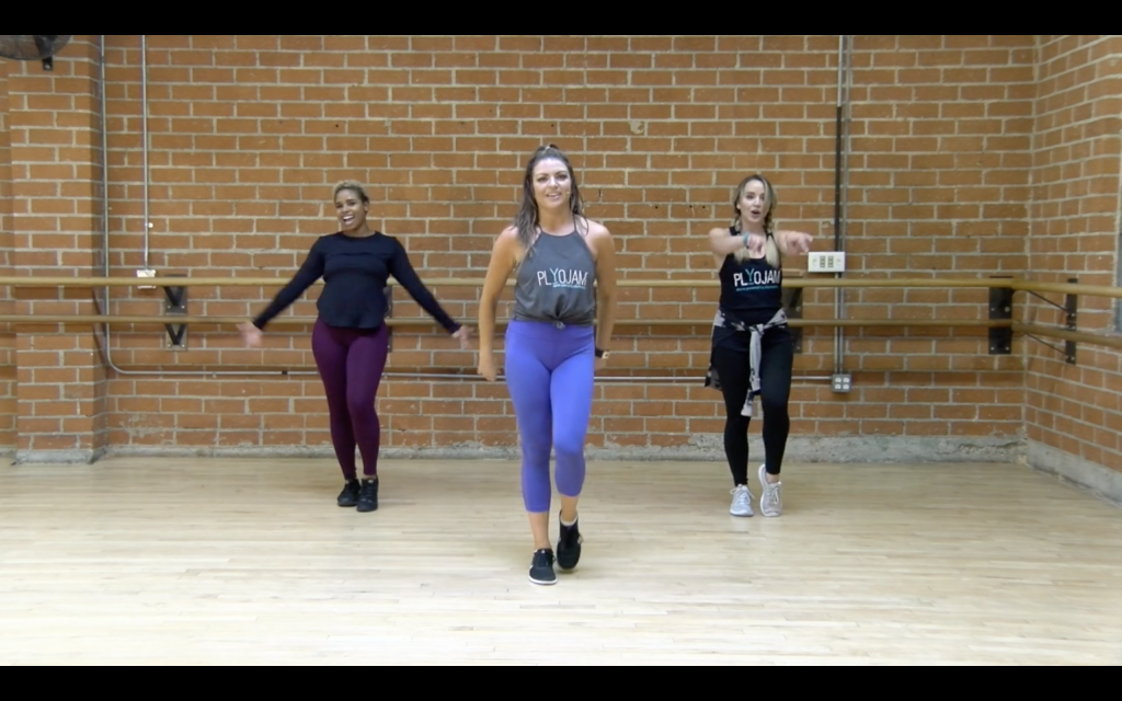 Intermediate Dance Fitness Classes - PlyoJam