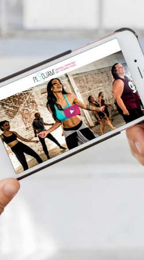 Take a PlyoJam class anywhere you have you r phone with our online membership